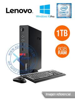 Computadora Lenovo ThinkCentre M710q Tiny, Intel Core i7-7700T 2.9GHz, 8GB DDR4