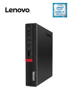 Computadora Lenovo M720Q, Intel Core i7-8700T 2.40GHz, 8GB DDR4, 1TB SATA.