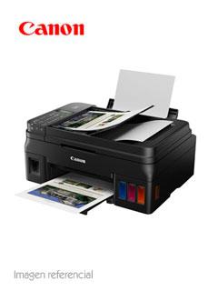 Multifuncional de tinta continua Canon Pixma G4110, imprime/escanea/copia/fax, USB/Wi-Fi.
