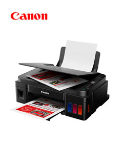 Multifuncional de tinta continua Canon Pixma G2110, imprime/escanea/copia, USB 2.0.