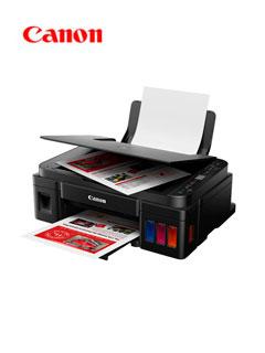 Multifuncional de tinta continua Canon Pixma G3110, imprime/escanea/copia, USB/Wi-Fi.