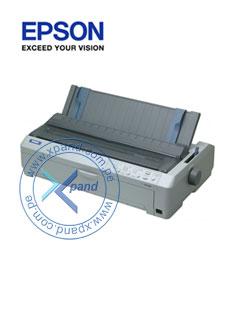 Impresora matricial Epson FX-2190, matriz de 9 pines, velocidad máxima 680cps (12cpp).