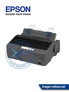 Impresora de matriz Epson LX-350, matriz de 9 pines, velocidad máxima 347 cps (10 cpi).
