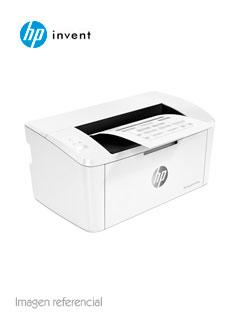 Impresora láser HP LaserJet Pro M15w, 19 ppm, 600x600 dpi, A4, USB / Wi-Fi, 220VAC.