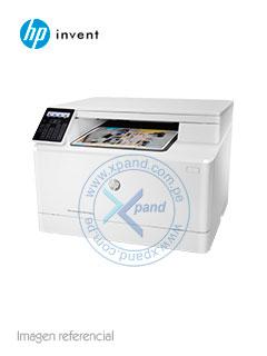 Multifunción HP Color LaserJet Pro M180nw, imprime/escanea/copia, USB/LAN/Wi-Fi.