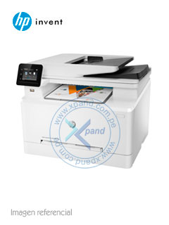 Multifunción color HP Color LaserJet Pro M281fdw, imprime/escanea/copia/fax, USB/LAN/Wi-Fi