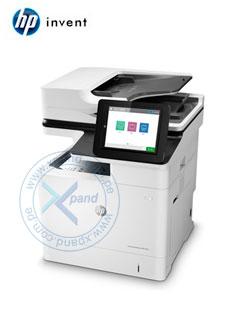 Impresora multifunción HP LaserJet Enterprise M631dn, imprime/escanea/copia, USB / LAN.