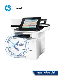 Multifuncional HP LaserJet Enterprise M527dn, imprime/escanea/copia, LAN/USB 2.0.