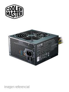 Fuente de alimentación Cool Master MasterWatt Lite, 500W, ATX, 80 Plus, 100~240VAC.