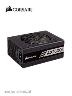 Fuente de alimentación Corsair Series AX1600i, 1600W, 80 Plus Titanium.