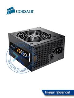 Fuente de alimentación Corsair VS650, ATX, 650 Watts, 80 PLUS.