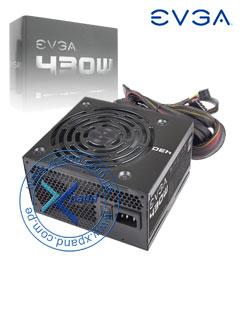 Fuente de alimentación EVGA 430 W1, ATX, 430 W, 80 Plus, 100~240V.
