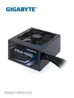 Fuente de alimentación Gigabyte PW400, 400W, ATX, 80 Plus, 100V ~ 240VAC.