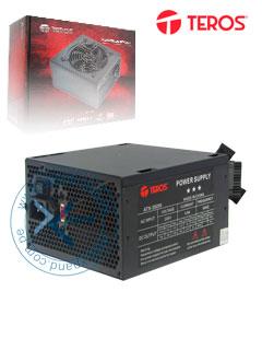 Fuente de alimentación Teros ATX450W, 450W, ATX, 115v / 230V.