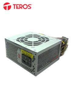 Fuente de alimentación Teros MATX600W, 600W, MATX, 115v / 230V.