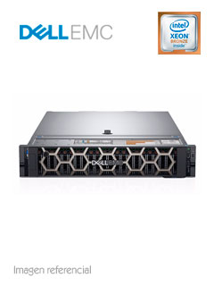 Servidor Dell PowerEdge R740, Intel Xeon Bronze 3106 1.7 GHz, 16GB DDR4, 2TB SATA.