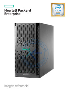 Servidor HPE ProLiant ML350 Gen10, Intel Xeon Gold 5118 2.3 GHz, 16.5MB Caché, 32GB DDR4