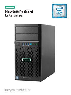 Servidor HPE ProLiant ML30 Gen9, Intel Xeon E3-1220 v6 3.0 GHz, 8GB DDR4, Tower 4U.