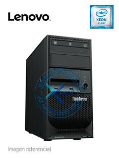 Servidor Lenovo ThinkSystem TS150, Intel Xeon E3-1245 v6 3.7 GHz, 8GB DDR4, 2TB SATA.