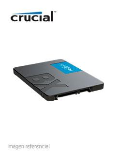 """Unidad de Estado Solido Crucial BX500, 240GB, SATA 6Gb/s, 2.5"""", 7mm."""