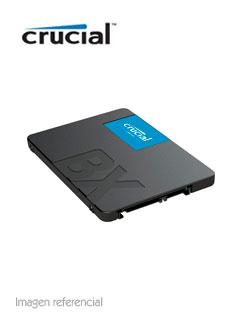 """Unidad de Estado Solido Crucial BX500, 480GB, SATA 6Gb/s, 2.5"""", 7mm."""