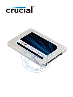 """Unidad de Estado Solido Crucial MX300, 2TB, SATA 6Gb/s, 2.5"""", 7mm."""
