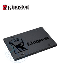 "Unidad de Estado Solido Kingston A400, 120GB, SATA 6Gb/s, 2.5"", 7mm, TLC."