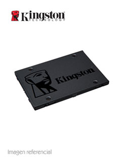 "Unidad de Estado Solido Kingston A400, 240GB, SATA 6Gb/s, 2.5"", 7mm, TLC."