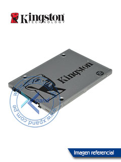 "Unidad de estado solido Kingston SSDNow UV400, 120GB, SATA 6Gb/s, 2.5""."
