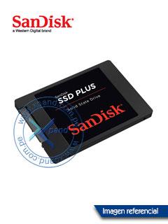 """Unidad de estado solido SanDisk SSD Plus, 120GB, SATA 6Gb/s, 2.5""""."""