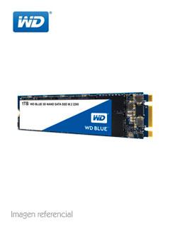 Unidad en estado solido Western Digital WD Blue, 1TB, M.2 2280, SATA 6.0 Gbps.