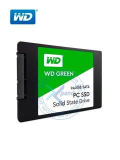 """Unidad de estado solido Western Digital Green, 240GB, SATA 6Gb/s, 2.5"""", 7mm."""
