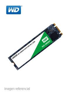 Unidad en estado solido Western Digital WD Green, 240GB, M.2 2280, SATA 6.0 Gbps.