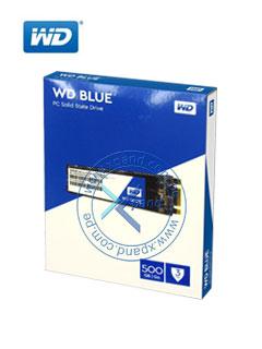 Unidad de estado solido Western Digital Blue, 500GB, SATA 6Gb/s, M.2 2280.