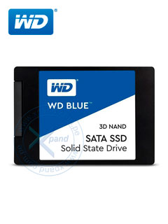 "Unidad de Estado Solido Western Digital WD Blue, 500GB, SATA 6Gb/s, 2.5"", 7mm, 3D NAND."