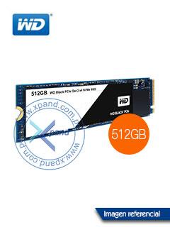 Unidad de estado solido Western Digital WDS512G1X0C, 512GB, M.2 2280, NVMe PCIe Gen3 8Gb/s
