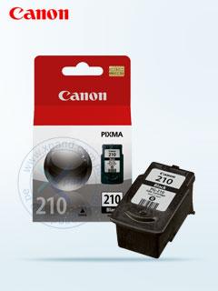 Cartucho de tinta Canon PG-210, negro, 9 ml.