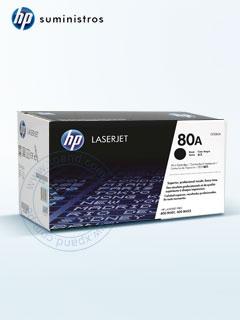 Cartucho de toner HP 80A, tecnologÍa láser