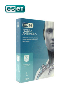 Software Eset Nod32, Edición 2019, 5PC, Presentación en caja.