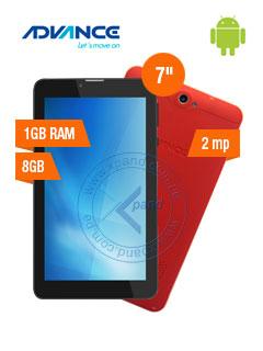 """Tablet Advance Prime PR5650, 7"""", 1024x600, Android 7, 3G, Dual SIM, 8GB, RAM 1GB."""