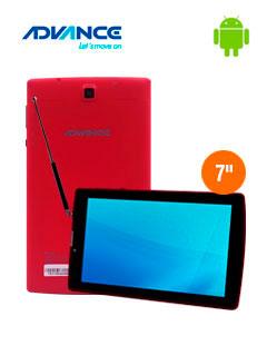 """Tablet Advance Prime PR6145, 7"""" 1024x600, Android 7.0, 3G, Dual SIM, 8GB, 1GB, DTV: ISDB-T"""
