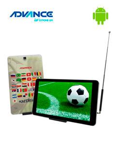 "Tablet Advance Prime Pr6150, 8"" 1280x800, Android 7, 3G, Dual SIM, 8GB, RAM 1GB, DTV."
