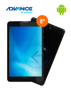 "Tablet Advance SmartPadSP4871, 8"", 800x1280, Android 7, 4G, Wi-Fi, Bluetooth."