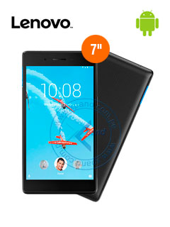 "Tablet Lenovo Tab 7 Essential, 7"", IPS Touch, 1024x600, Android 7.0, Wi-Fi, Bluetooth."
