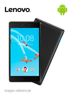 "Tablet Lenovo Tab 7 Essential, 7"", IPS Touch, 1024x600, Android 7.0, 3G, Wi-Fi, Bluetooth."