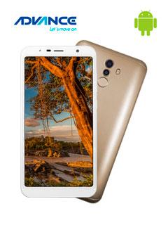 "Smartphone Advance Hollogram HL7257, 5.7"", Android 8.1, LTE, Dual SIM, Desbloquead"