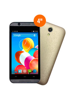 "Smartphone IPro Wave 4.0, 4.0"" 480x800, Android 4.4, 3G, Dual SIM, Desbloqueado."
