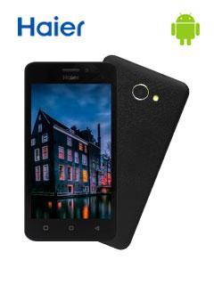 """Smartphone Haier G32, 4.5"""" 480x854, Android 7.1, LTE, Dual SIM, Desbloqueado."""