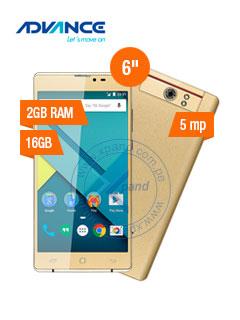 "Smartphone Advance Hollogram HL5767, 6.0"" 720x1280, Android 6.0, 3G, Dual SIM Desbloqueado"