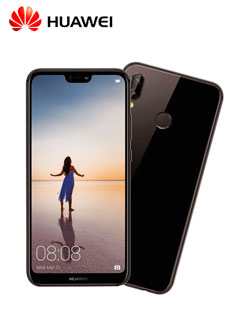 "Smartphone Huawei P20 Lite, 5.84"" 1080x2280, Android 8.0, LTE, Dual SIM, Desbloqueado."